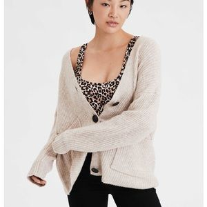 American Eagle chunky knit sweater